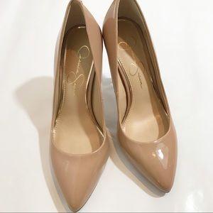 Jessica Simpson Nude Heels Size 7
